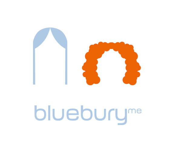 bluebury me - logodesign