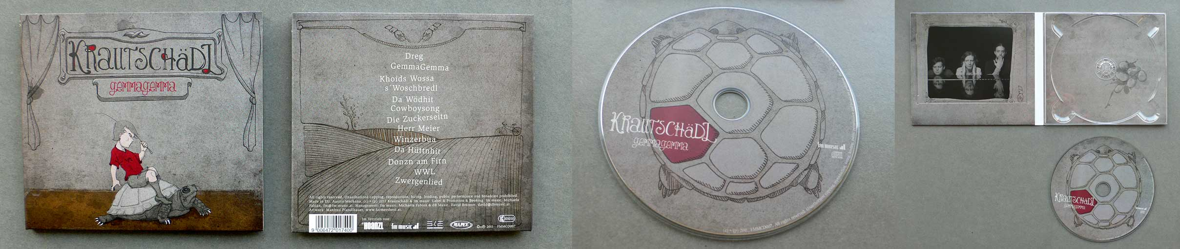 cd artwork and illustrations / krautschädl