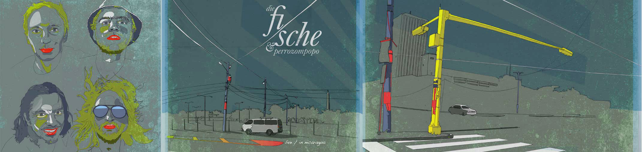 "cd-artwork / illustrations ""die fische"""